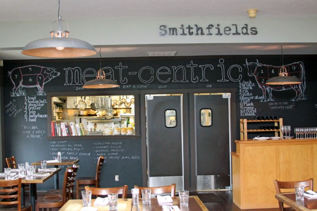 Smithfields Restaurant and Bar, Ashland, Oregon