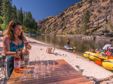 OARS. Epicurean Adventure on Idaho's Main Salmon River with Whole Journeys_James Kaiser