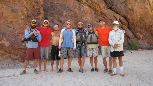 O.A.R.S. Grand Canyon rafting trip crew