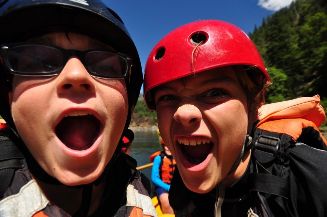 Should you take kids on a rafting trip?