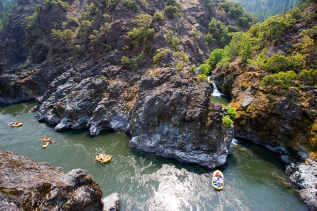 World Class River Views: Stair Creek Falls, Rogue River |Photo: TL Barbutes