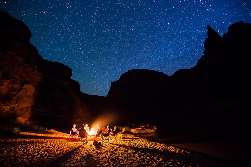 Cataract Canyon rafting: Stars with Lars | Photo: Whit Richardson