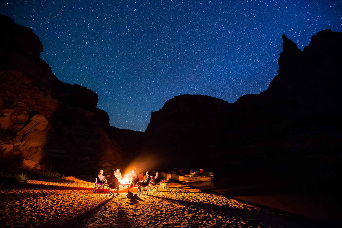 Nightscapes in Cataract Canyon: Stars with Lars