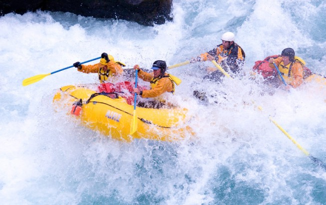 Chilko River Rafting
