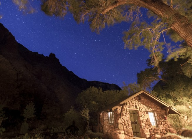 Phantom Ranch at the Grand Canyon
