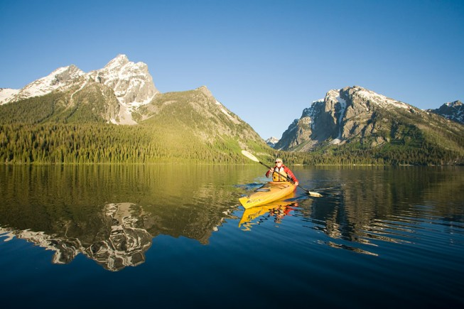 Grand Teton National Park solo adventure
