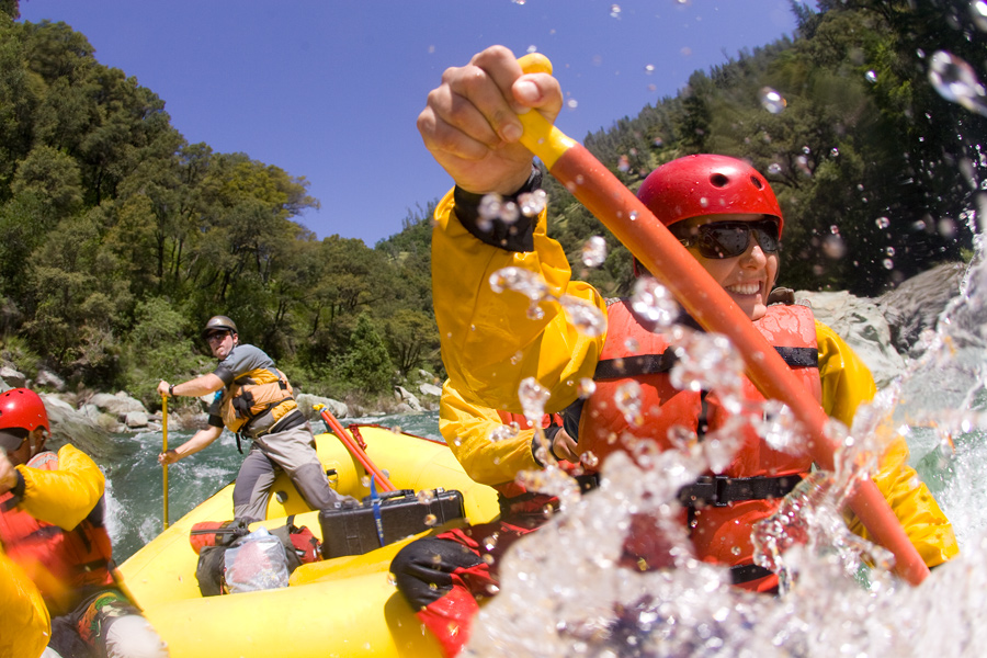 How to Convince Newbies to Go Rafting