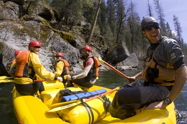 OARS. River Guide Chris Moore - Stanislaus River Rafting