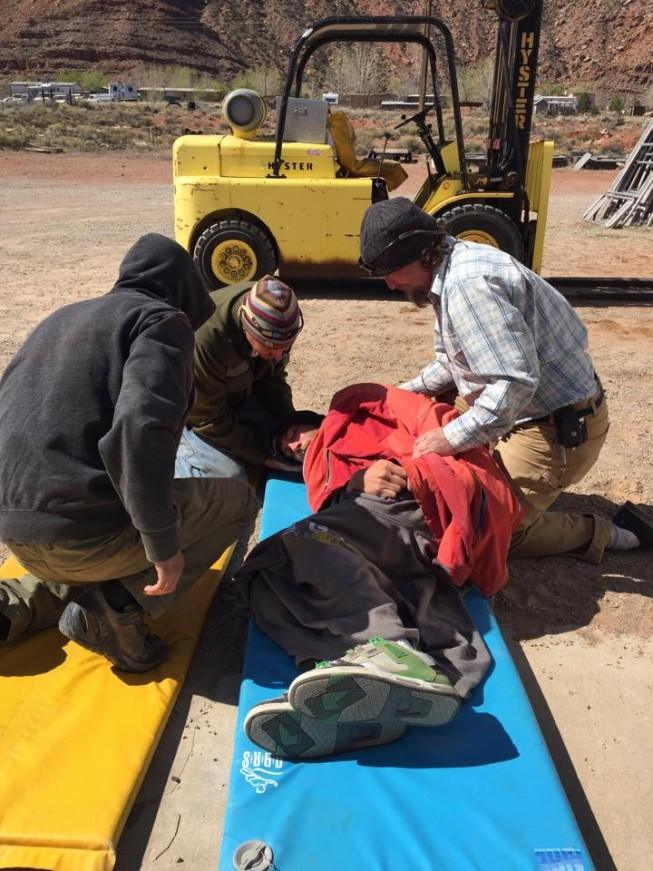 Wilderness First Responder Training | Desert Mountain Medicine