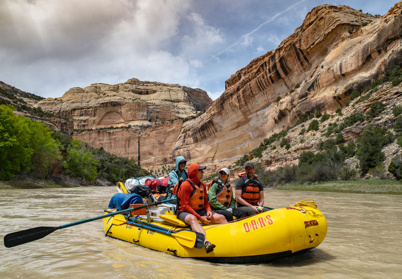Friends of the Yampa Rafting Trip with OARS