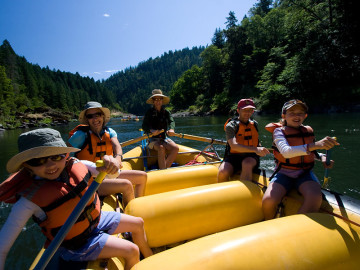 5 Tips for Whitewater Rafting with Kids