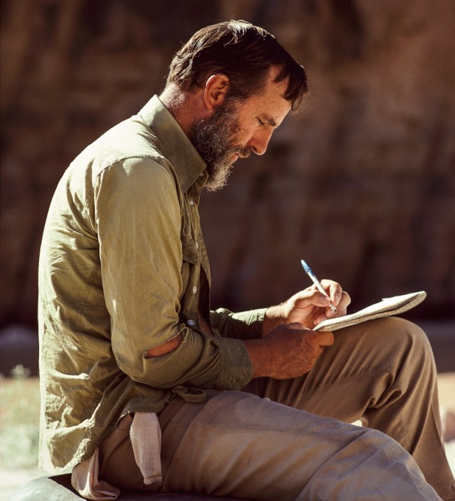 Edward Abbey writes in his journal.