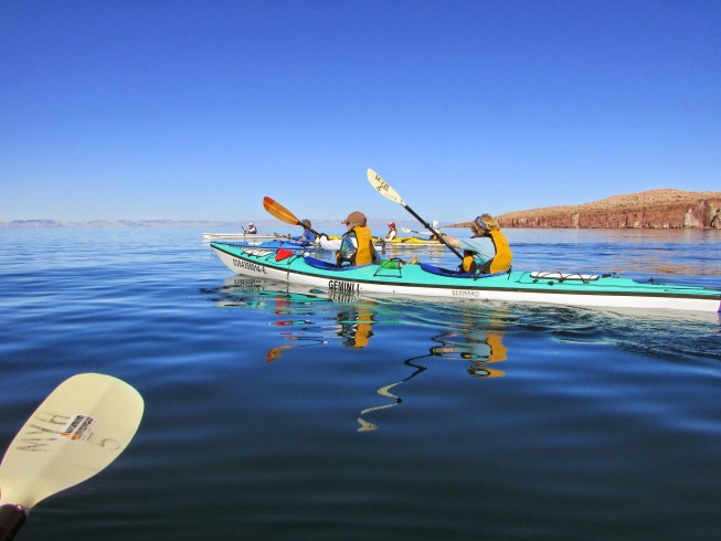 Baja sea kayaking vacation