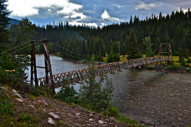 Bear Creek Bridge Flathead River