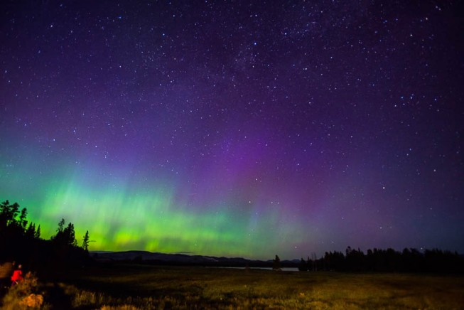 Night sky in Yellowstone National Park | Photo: James Kaiser