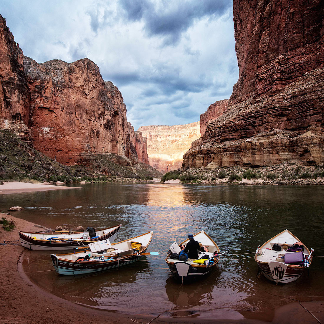 Dories in the Grand Canyon