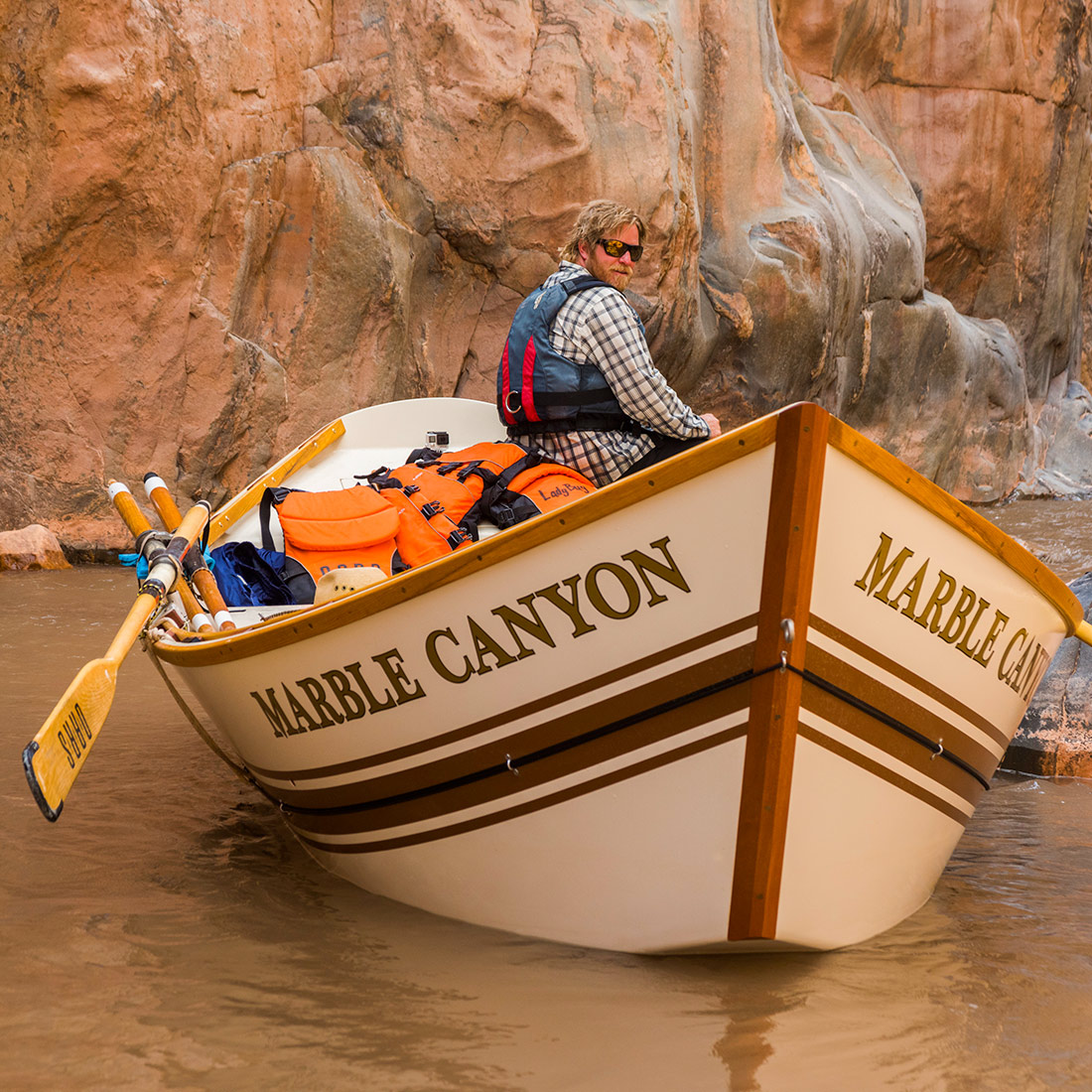 Marble Canyon Dory in the Grand Canyon
