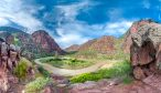 Green River_View-upstream-from-Bluff-over-Pot-Creek-Camp