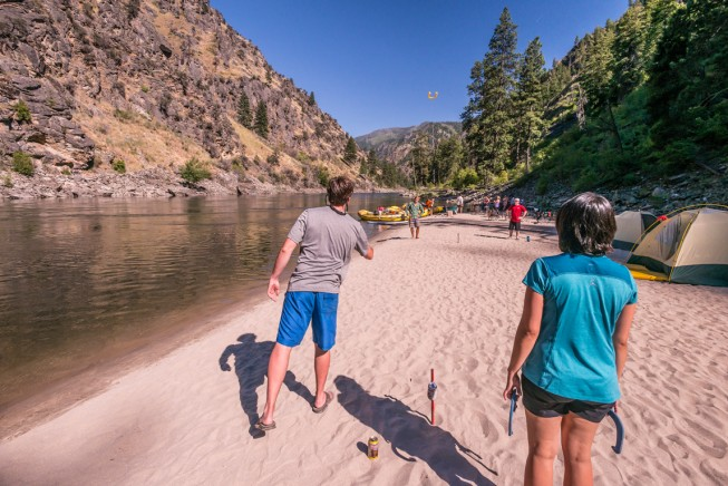 Horseshoes on the Main Salmon River, Idaho
