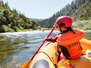 Lower Klamath River rafting with OARS