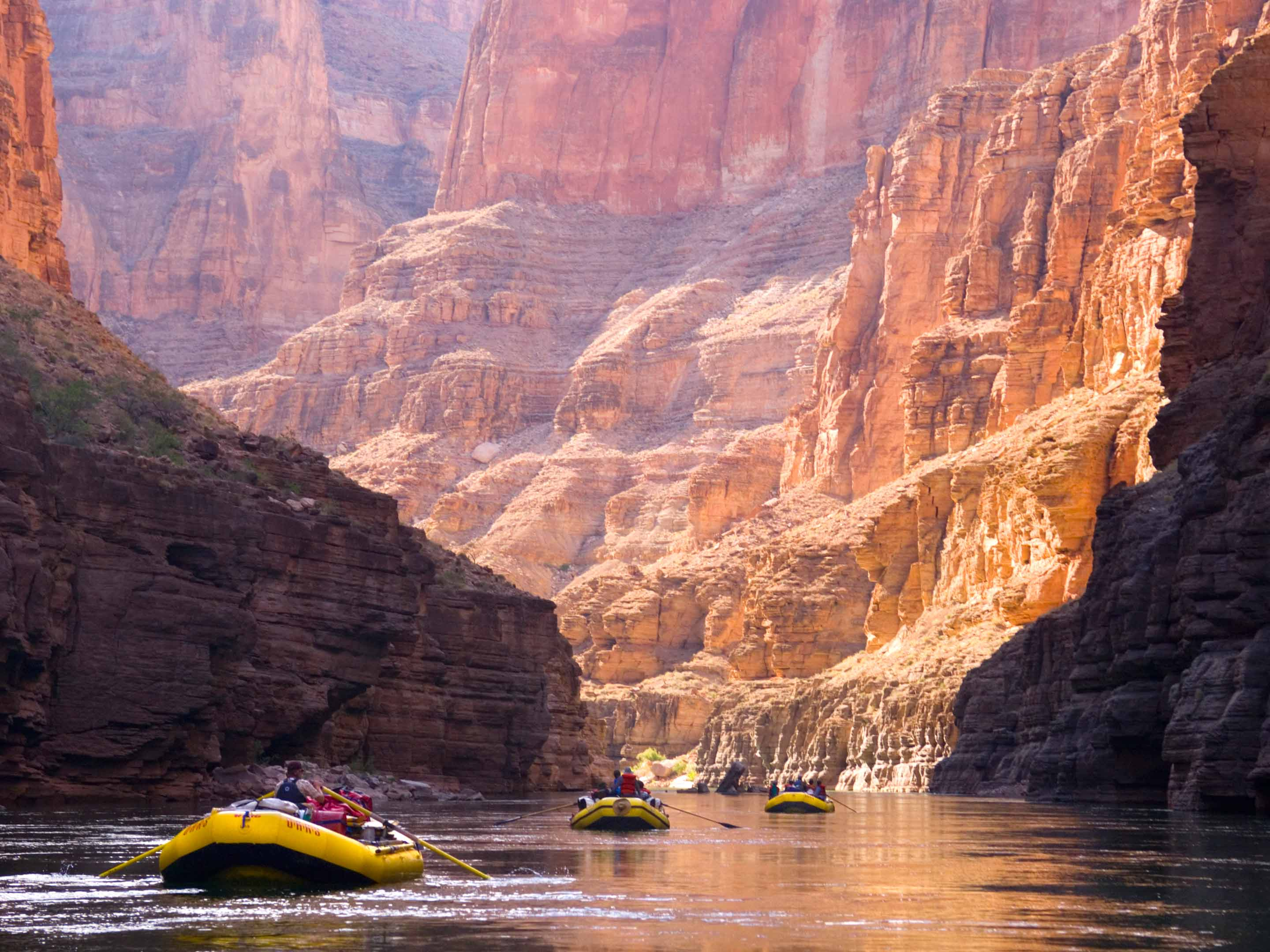 Rafting through the Grand Canyon with OARS