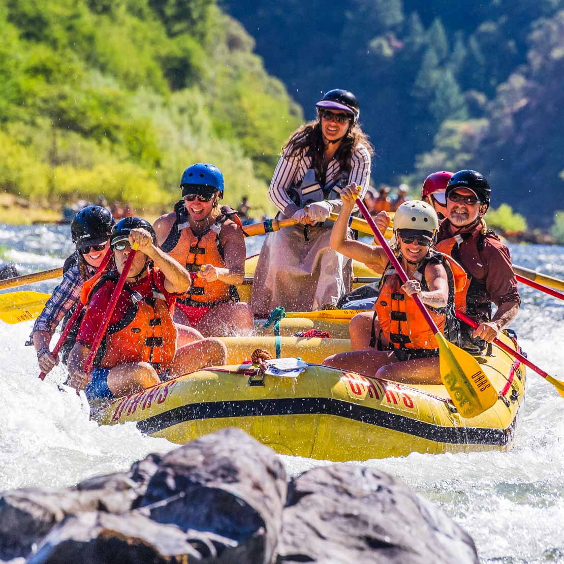 Adults Singles Rafting Fun