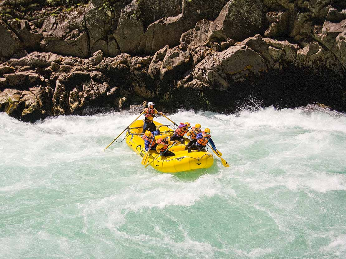 Adults Singles Whitewater Rafting