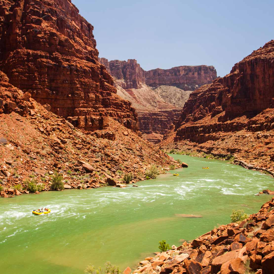 American Classics Rafting The Grand Canyon