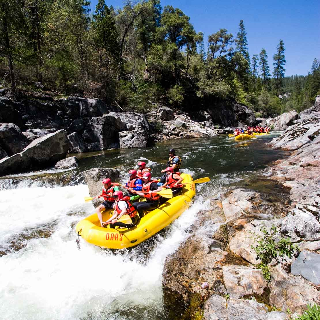 California River Rapids