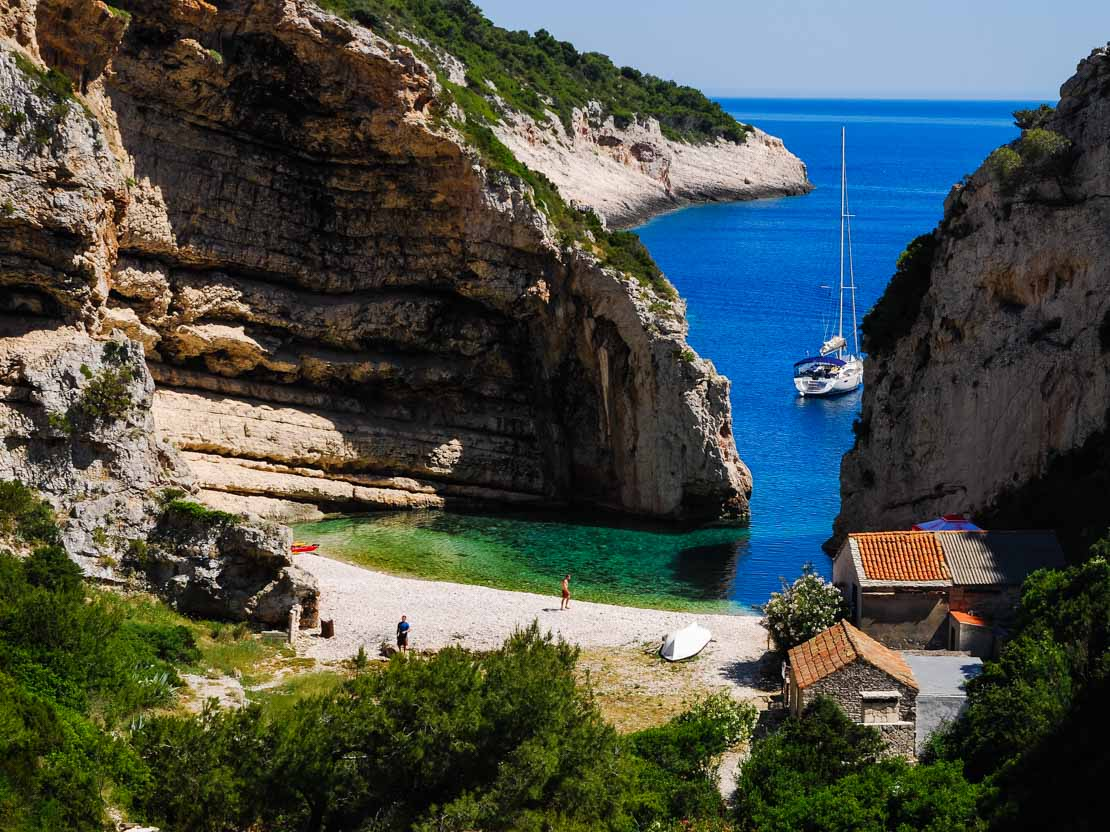 Croatia Secluded Beach