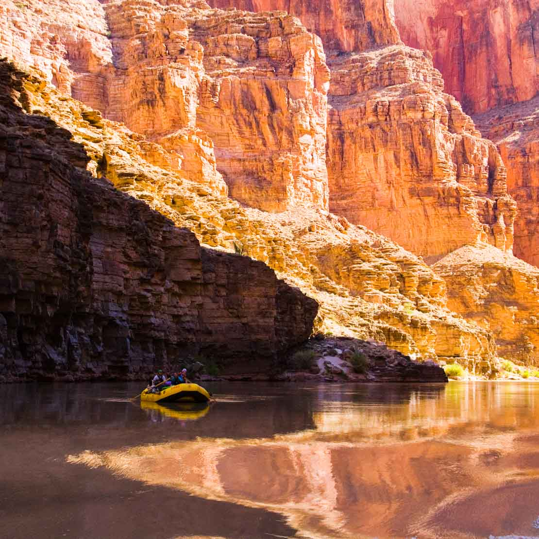 Grand Canyon Tranquil River Rafting