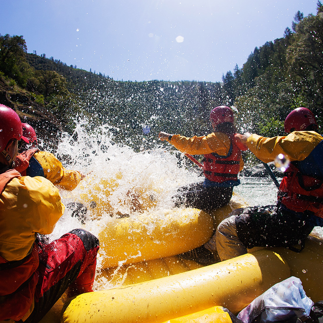 North Fork American rafting