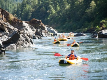Confessions of a First Time Paddler