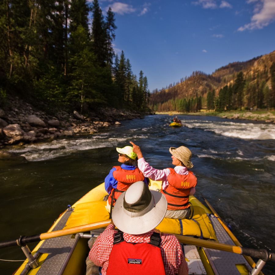 Rafting: Salmon River Main Fork