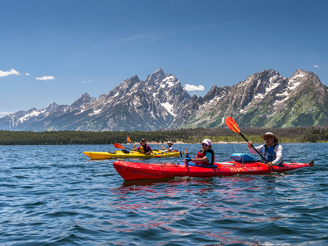 Sea Kayak Tours with OARS