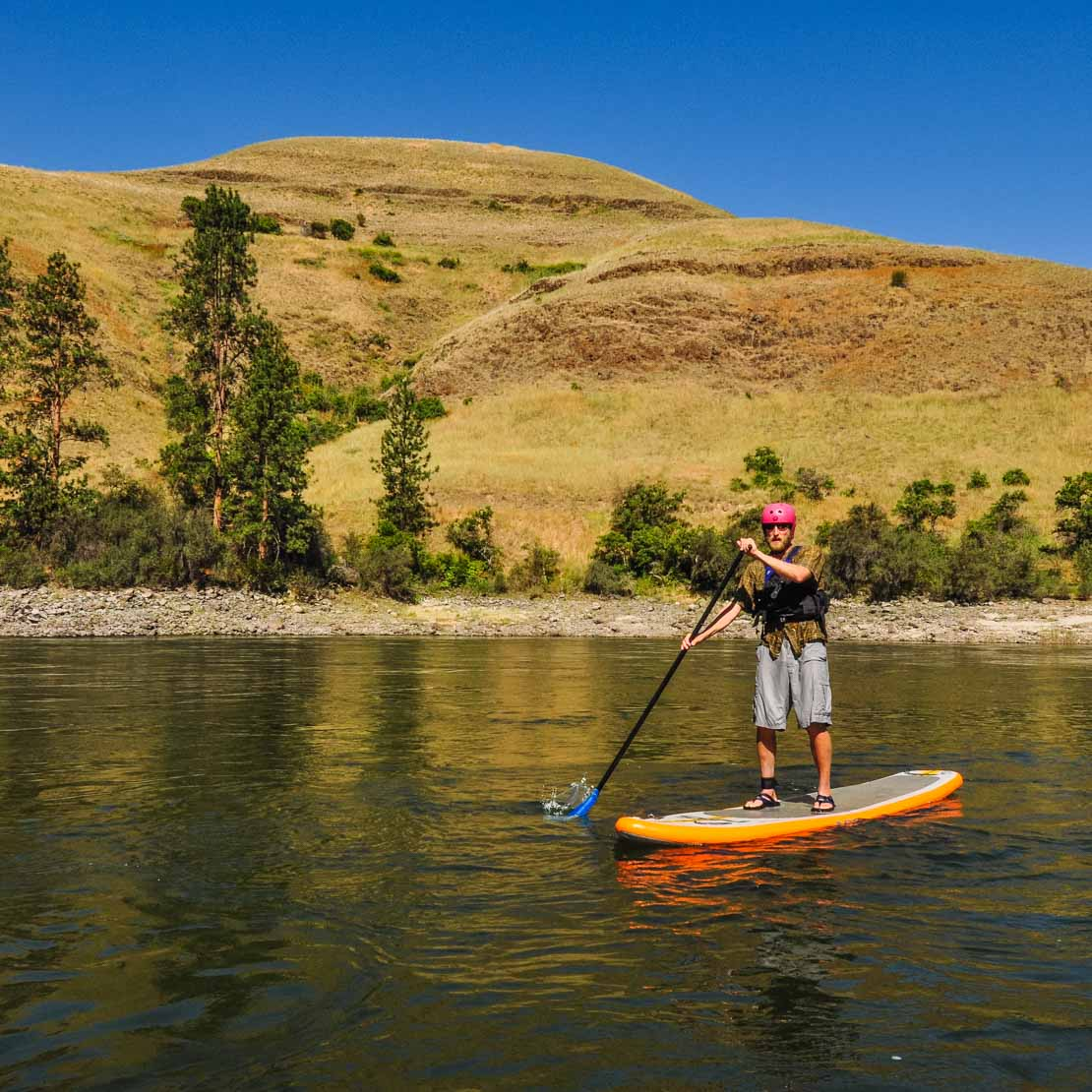 Stand Up Paddleboard Man