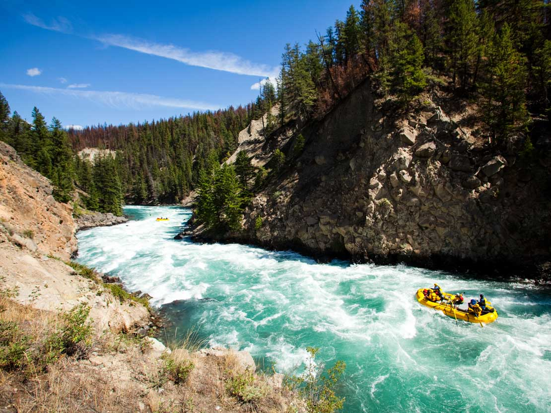 Whitewater Rafting On The Chilko River