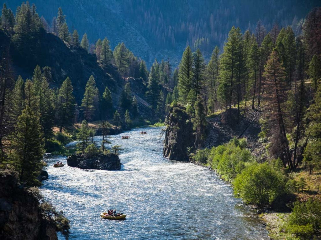 Wild And Scenic Rivers Main Salmon River