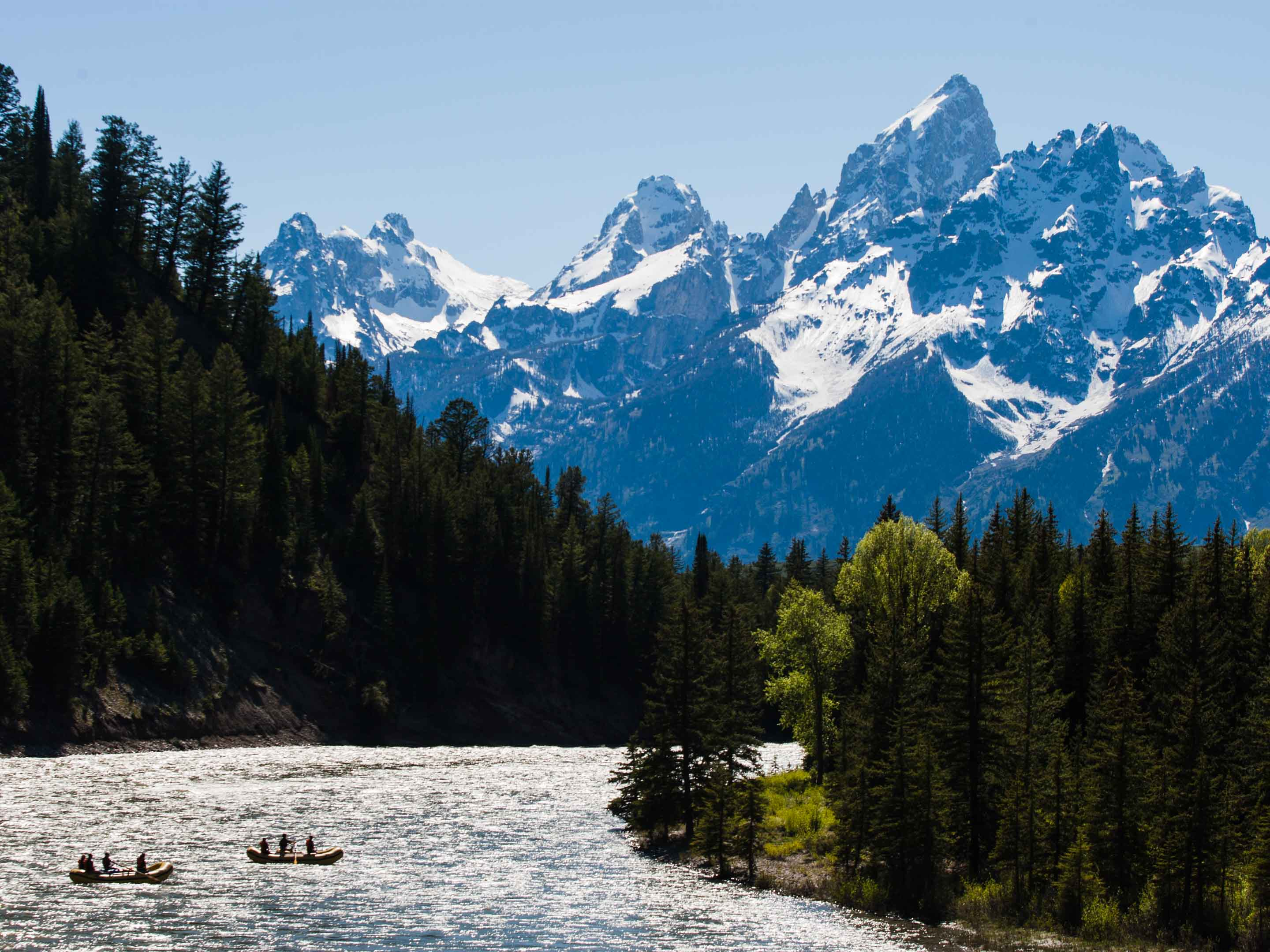 The Best National Parks for Rafting - Snake River Rafting in Grand Teton National Park
