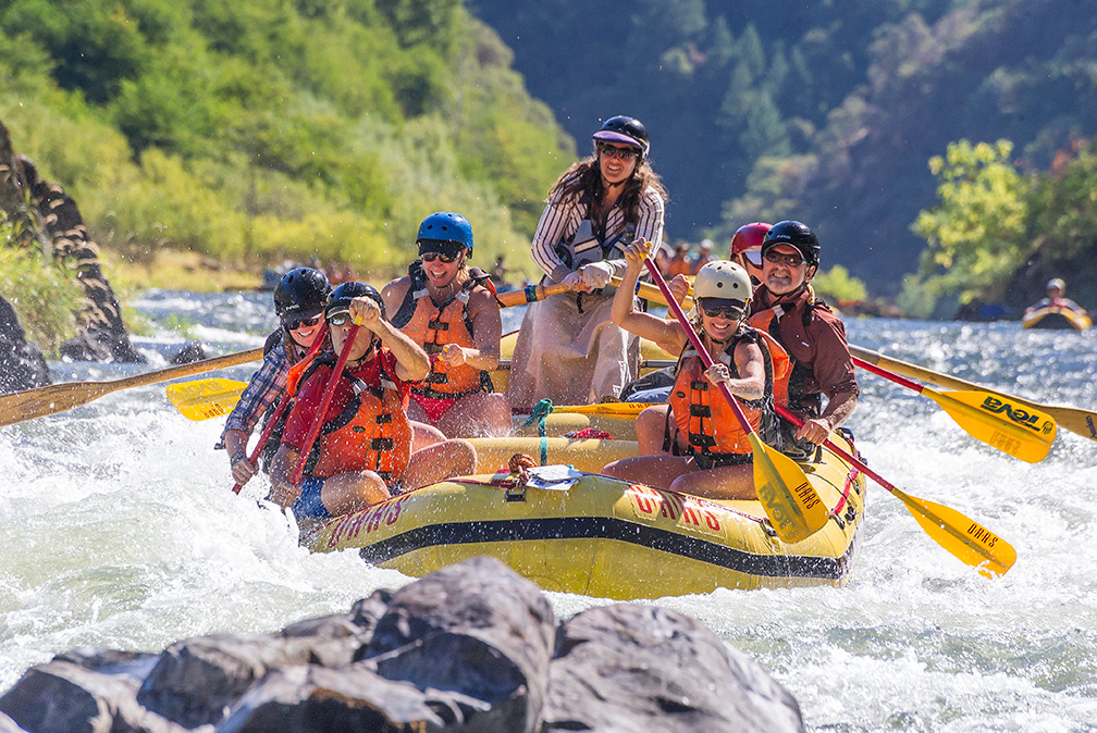 O.A.R.S. Oregon Area Manager and Rogue River Guide, Kate Wollney