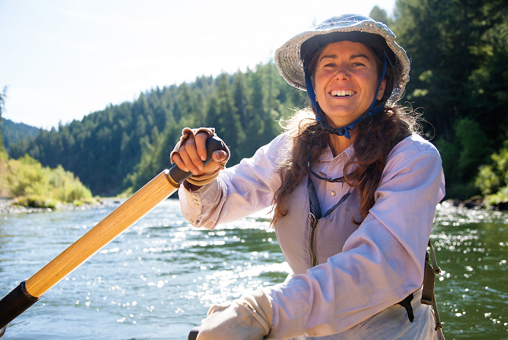 OARS. Oregon Area Manager and Rogue River Guide, Kate Wollney