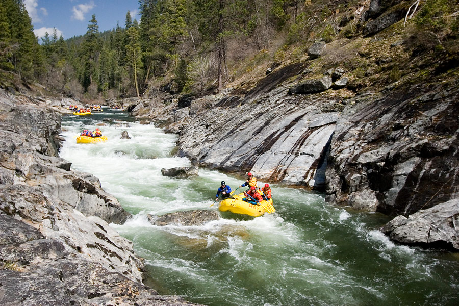 2016 California Rafting Outlook | North Fork Stanislaus River Rafting