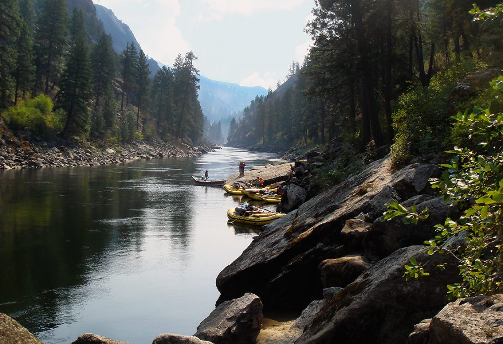 The Best Dam-Free Stretches of River in the West | Idaho's Salmon River | Photo: George Wendt