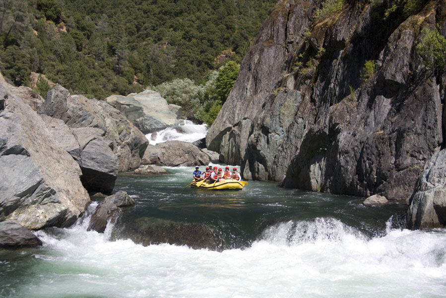 Ultimate California Road Trip for Outdoor-Lovers | Middle Fork American River Rafting