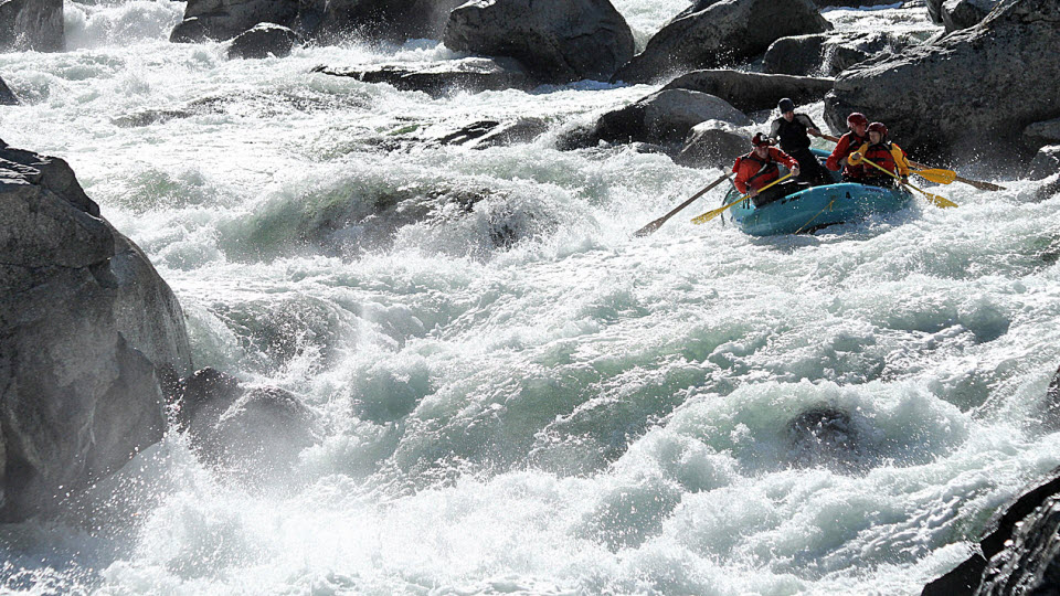 Best California Whitewater | Mushroom Rapid, Cherry Creek | Photo: AORafting