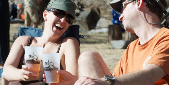 Craft Beer Tasting on the Tuolumne River