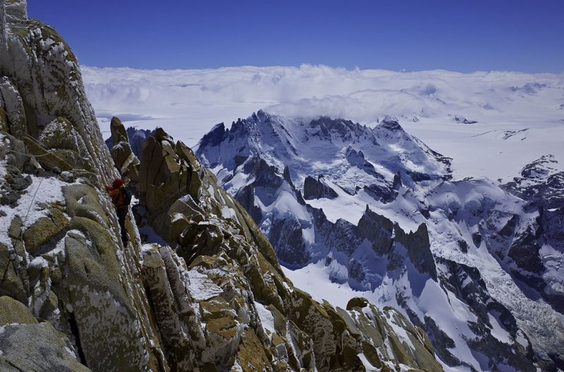6 Thrilling Patagonia Adventures | Climbing Fitz Roy | Photo by Kristoffer Szilas