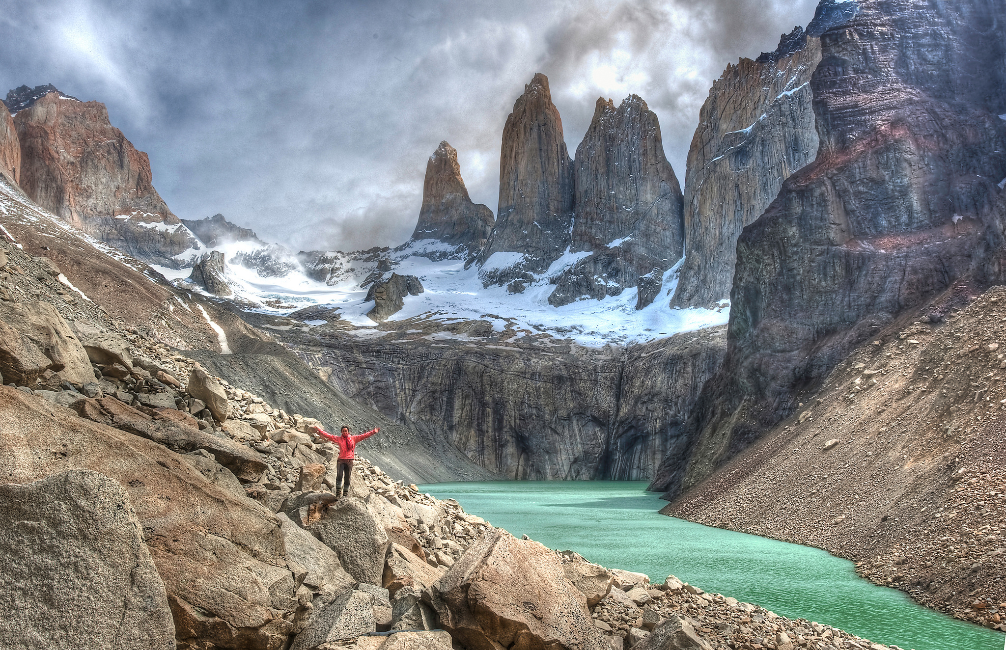 Riders on the storm, torres del paine, patagonia, ines papert.