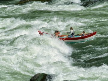 Idaho's Best Whitewater Rapids | Granite, Hells Canyon | Photo: David Hessel