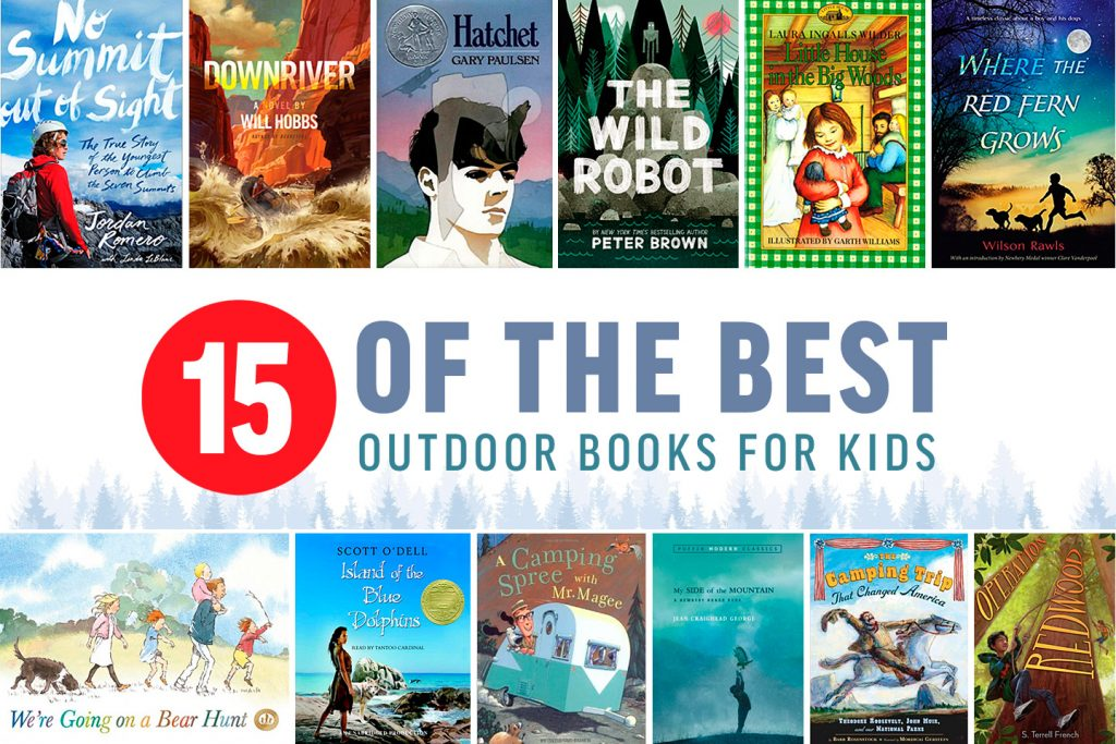 15 of the Best Outdoor Books for Kids